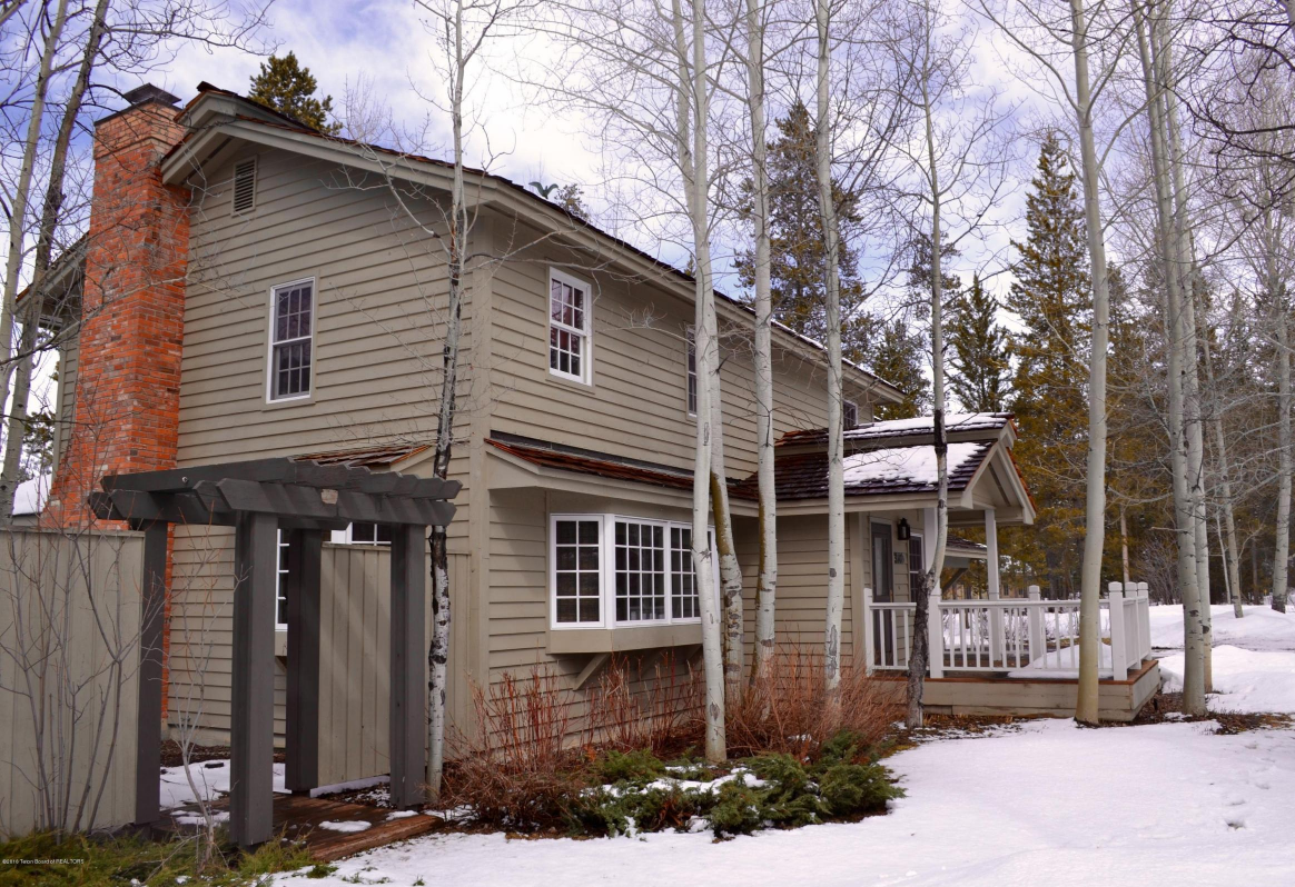 Vacation home investments in jackson hole wy for Jackson hole cabin resort